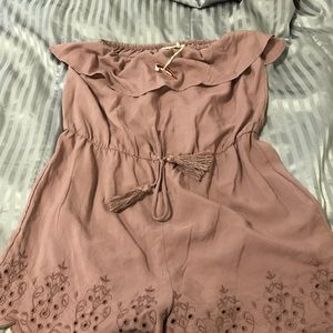 Light purple Romper
